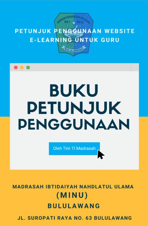 Panduan E-Learning untuk Guru