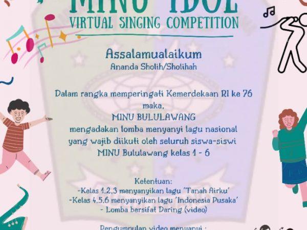 Lomba Menyanyi Nasional secara Virtual